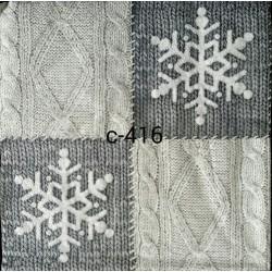 Салфетка для декупажа Зимний свитер