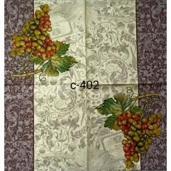 Салфетка Античный виноград