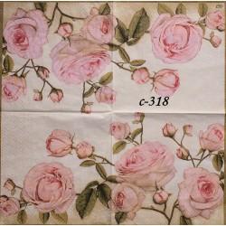 Салфетка Крупные розы