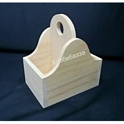 Коробка под специи с двумя делениями