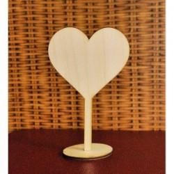 Сердце на подставке 20 см