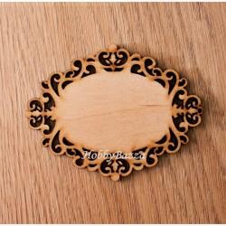 Накладка на шкатулку 10 см - декоративный элемент