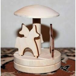 Деревянная заготовка Каруселька