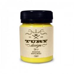 Краска акриловая Tury Design Di-7 Лимонный