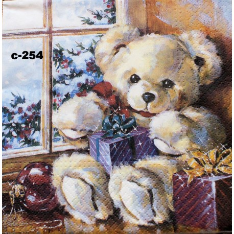 рождественский мишка