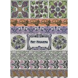 Рисовая бумага Орнаменты Арт-Нуво