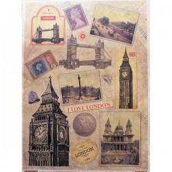 Рисовая бумага Прогулка по Лондону