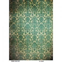 Рисовая бумага Зеленый винтаж фон