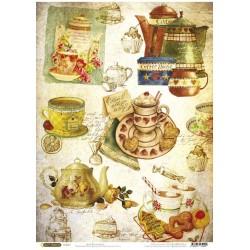 Рисовая бумага Чайная церемония