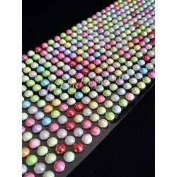 Полужемчуг на клеевой основе Разноцветный