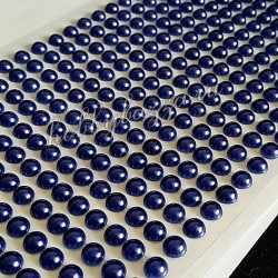 Полужемчуг на клеевой основе Сине-фиолетовый