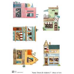 Декупажная карта Doors & windows 7 Base of art