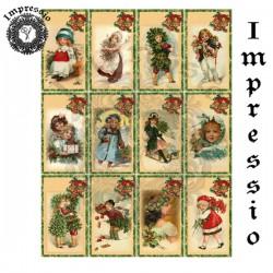 Декупажная карта Impressio 17112 Рождество