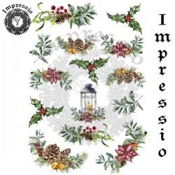 Декупажная карта Impressio Зима 17110