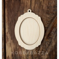 Медальон Рамка ( 2 слоя) 11*8,5 см