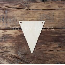 Флажок треугольный 11,5*9,5 см (мягкие углы)