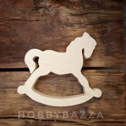 Деревянная заготовка Лошадка 10 см (щелкунчик)