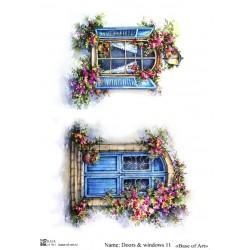 Декупажная карта Doors&windows 11