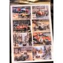 Декупажная карта Формула1