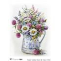 Декупажная карта Base of art Summer flower 44