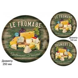 Декупажная карта А3 Сырная доска Le Fromage