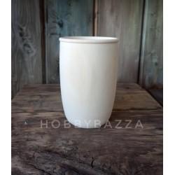 Липовый стакан /ваза/ карандашница/ 13 см