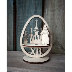 Пасхальный декор Яйцо с символикой Пасхи