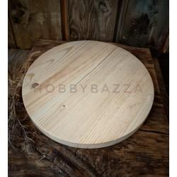 Сырная доска 25 см с ровным краем