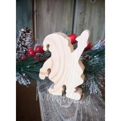 Заготовка Дед Мороз 10 см из сосны