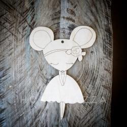 Подвеска Мышка балерина