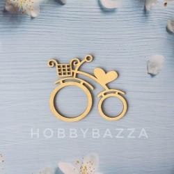 Велосипед декоративный 10*9 см