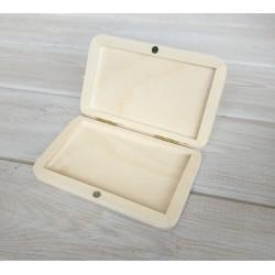 шкатулка Визитница (портсигар) 12*7,5*1,5 см