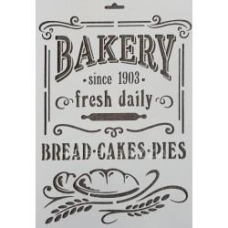 Трафарет Винтажный Bakery, купить