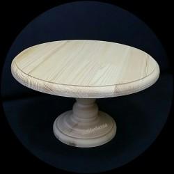 деревянная заготовка тортовница 25 см