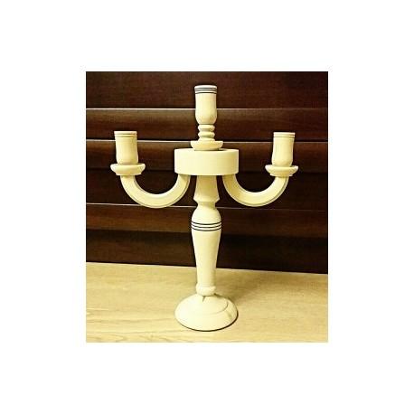 подсвечник-канделябр на 3 свечи