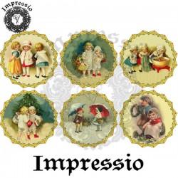 Декупажная карта 16762 Медальны-2 Impressio