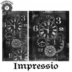 Декупажная карта Impressio Часы 16670