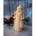 Богородская игрушка Дед Мороз 13 см, заготовка под роспись