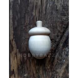 Игрушка-шкатулка на елку Желудь