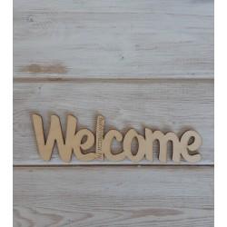 Деревянное слово Welcome, заготовка, купить