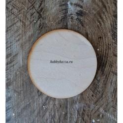 Деревянная заготовка Круг 8 см