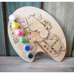 Набор для детского творчества Транспорт