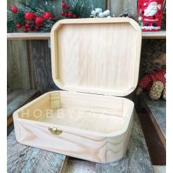 Заготовка Шкатулка - чемоданчик из сосны, купить