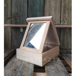 Купить деревянную шкатулку с зеркалом, заготовку для декупажа и росписи